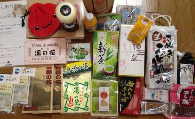 九州旅行お土産