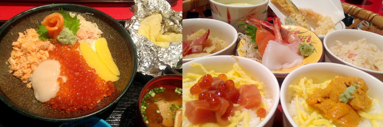 北海道旅行_空港でのお食事